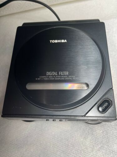 TOSHIBA Vintage XR-P22 CD Player with RC