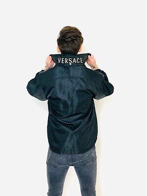 Versace Jacket. Vintage Lightweight Versace Spell Out Jacket. 63SK23
