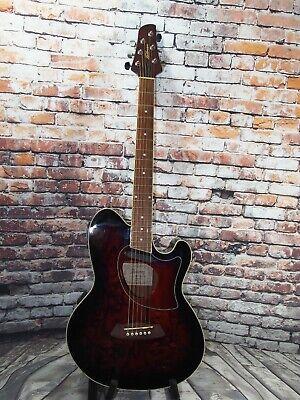Ibanez Talman TCM-50 Electro Acoustic Guitar - Walnut