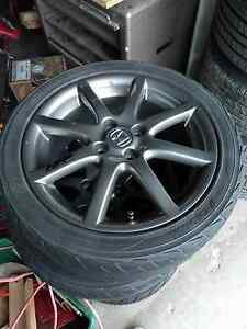 "HFP Honda Factory Performance Eight Spoke Rims 16x6.5"" 4x100"