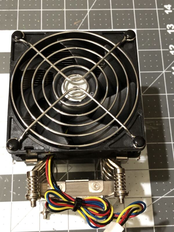 Used Supermicro 4U Active CPU Heatsink Cooling for X9 UP/DP Systems SNK-P0050AP4