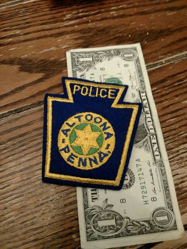 Altoona Pennsylvania Police Department Patch New Old Stock