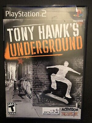 Playstation 2 Tony Hawk's Underground