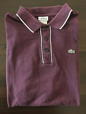 Men's Lacoste polo/short sleeve shirt/Size 7 EURO/Size XXL USA