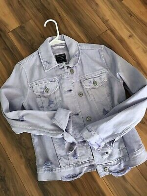 Nwt Abercrombie &  Fitch Women's Buttery Soft Jean Jacket S