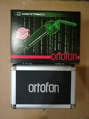Digitrack Cartridge (ORTOFON TWO PIECES CONCORDE DIGITRACK GREEN PROFESSIONAL DJ CARTRIDGE, DENMARK)