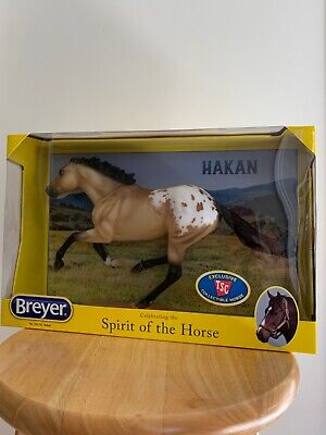 BREYER SR TSC HAKAN BUCKSKIN BLANKET APPALOOSA SMARTY JONES MOLD NIB