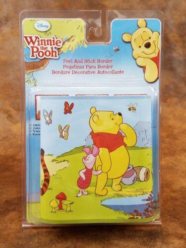 Winnie the Pooh & Friends Peel & Stick Border RMK1497BCS - Eeyore Tigger Piglet