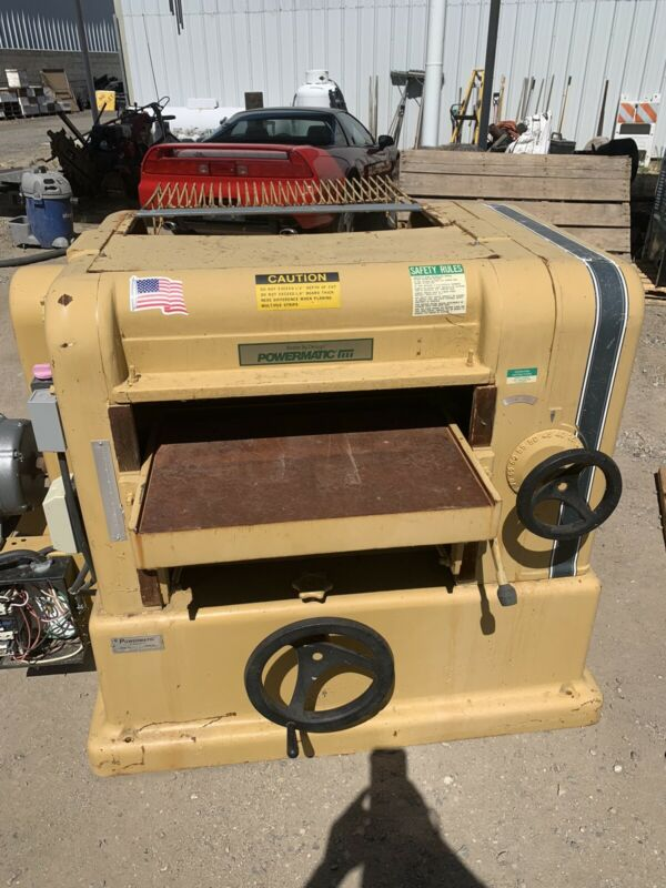 Powermatic Model 225 Industrial Wood Planer
