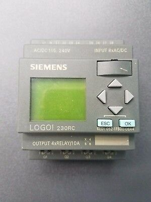Siemens Logo 230rc 6ed1052-1fb00-0ba6