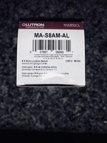 Lutron MA-S8AM-AL
