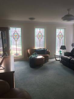 Rare Stained Glass Church Windows - Set of three