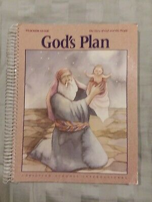 The Story of God and His People: God's Plan Teacher Guide 1st Grade Curriculum