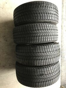 "215-245 18"" Michelin winter tires"