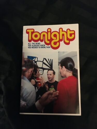 RARE NYC Club kids Art booklet MICHAEL ALIG James St James Ernie Glam 6-25-2015