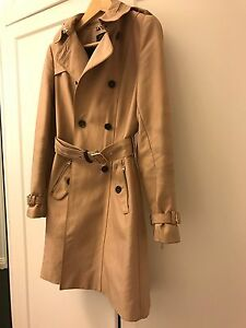 Zara trench coat - size small Edgecliff Eastern Suburbs Preview