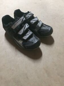 Cycle shoes.