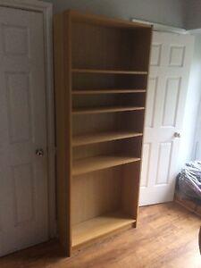Oak IKEA bookcase