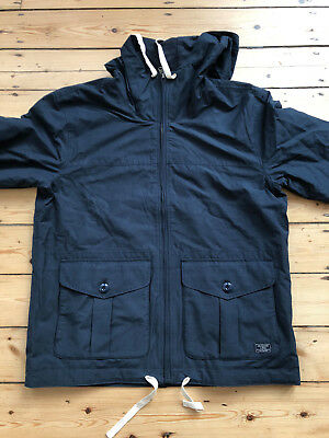 ABERCROMBIE AND FITCH MENS COTTON WINDBREAKER JACKET. BNWT . LARGE. £120.