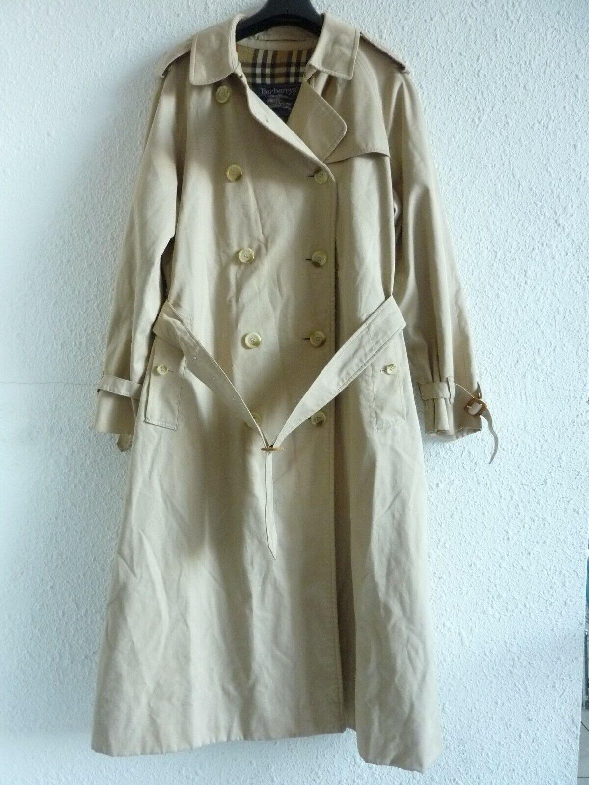 Trench veste manteau burberry's vintage beige avec ceinture