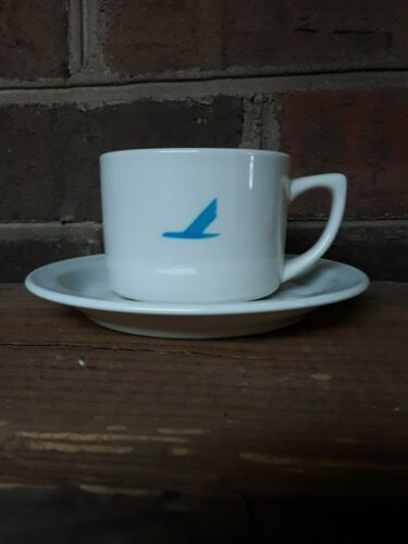 Vintage Piedmont Airlines China Cup and Saucer Mayer China Co