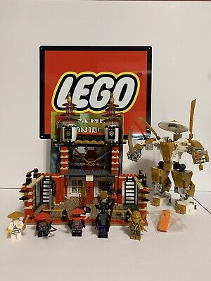 Lego Ninjago Temple Of Light Set from 2013 (# 70505), complete w/instructions