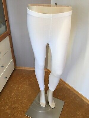 H&M Hose Gr. S basic Leggings Legging Schlupfhose mit Spitze  Basic Leggings