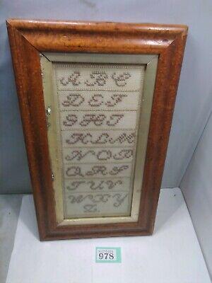 Antique Alphabet Sampler
