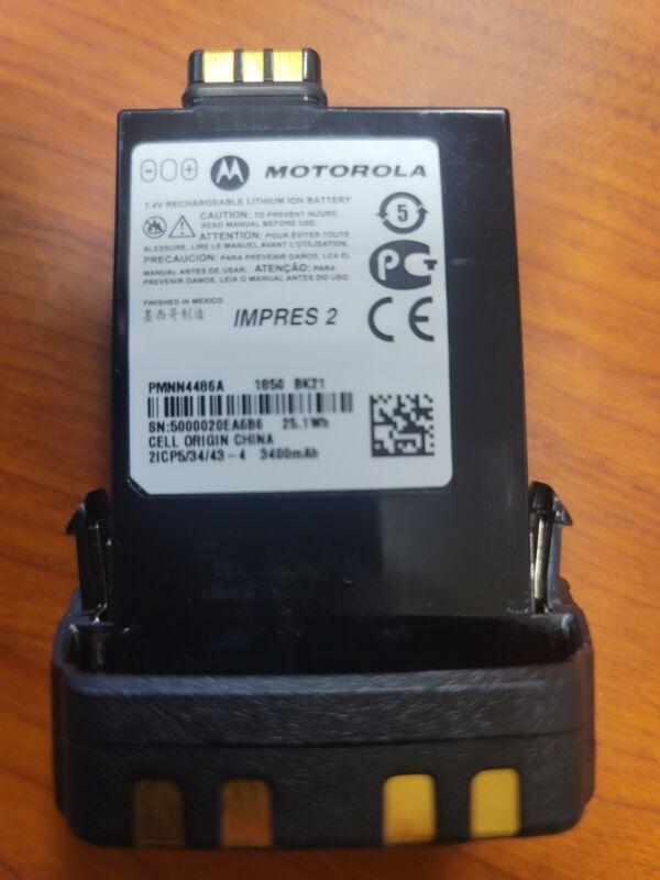 PMNN4486 PMNN4486A Motorola APX IMPRES 2 Li-Ion 3400mah IP68 NEW OEM APX6/7/8000