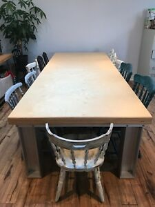 Custom design dining table!