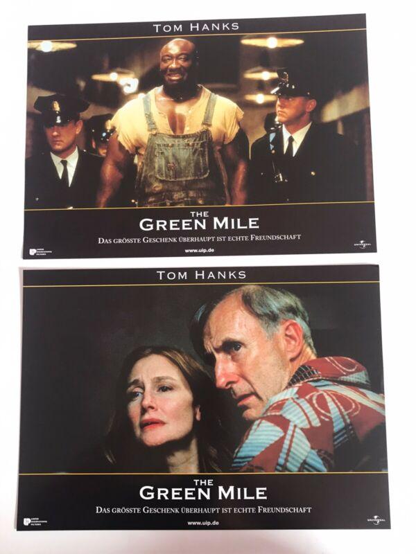 *THE GREEN MILE - TOM HANKS - 7 ORIGINAL PHOTOS FROM GERMANY MOVIE PRESS KIT*