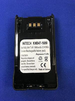 10 Batteriesjapan Li2a For Kenwood Knb47lslim Nexedge Nx200nx300tk5200...