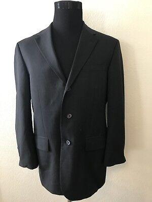 Nautica Charcoal Gray Wool Sport Coat Jacket Blazer 40R W34