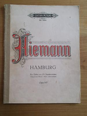 Noten. Niemann. Hamburg. Für Klavier.