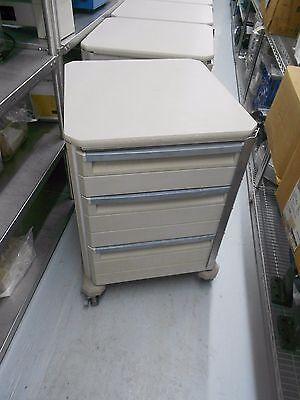 Metro 3 Drawer Hospital Supply Storage Crash Cart On Wheels