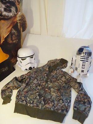 Star Wars Hoodie: Marc Eckō, Episode Cut&Sew, Yoda/Luke/Vader/Han/Jabba - Yoda Hoodie