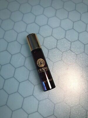 Versace Crystal Noir 0.17OZ / 5ML Eau De Toilette Deluxe Mini Rollerball Women