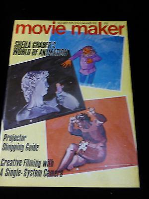 Movie Maker Magazine  October 1976  Like New
