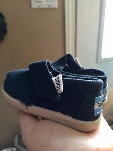 """Baby """"toms"""" shoes"""