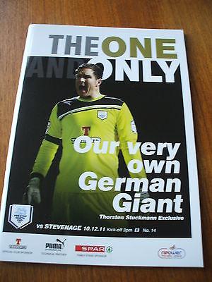 Preston North End v Stevenage 10-12-2011