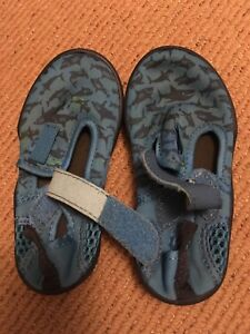 Sandals and water shoes (size 9, age 3-4)