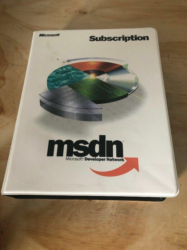 Microsoft Developer Network (MSDN) 2000 Total Of  39 Discs + Product Key