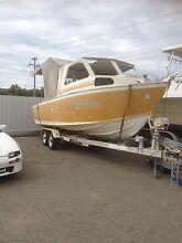 Fourstar 9metre Aluminium project boat Gum Flat Inverell Area Preview