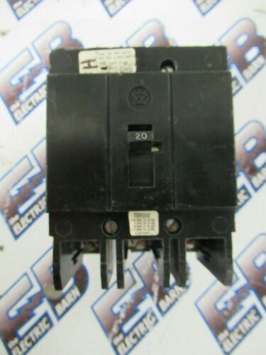 GHB3020, CH, WH, EATON (1) 20 Amp, 480 Volt, 3 Pole, Circuit Breaker- WARRANTY