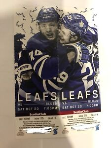 Toronto maple  Leafs tickets for sale (oct 20)