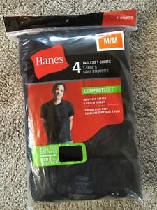 Men's Size M Hanes Tagless T-Shirts New in package