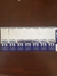 ETS tickets