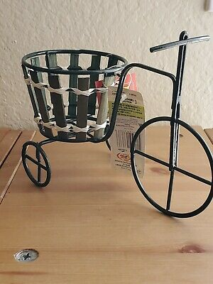 2 Small Bicycle Shaped Planter -