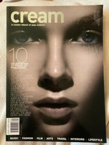 CREAM Magazine 2007 10TH Anniversary issue MADONNA, Tori Amos, Kylie Minogue