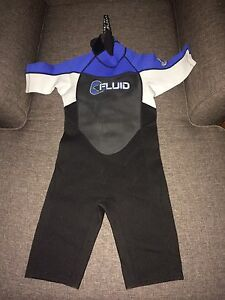 Fluid Junior size 12 wet suit